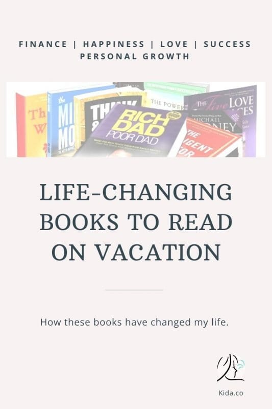 Life Changing Books Read on Vacation Holiday Family Travel Blog Featured