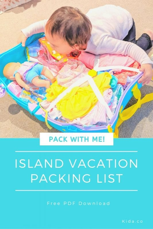 Tropical Island Vacation Packing List Toddler Video Checklist Essentials Downloads Printable Cook Islands Featured