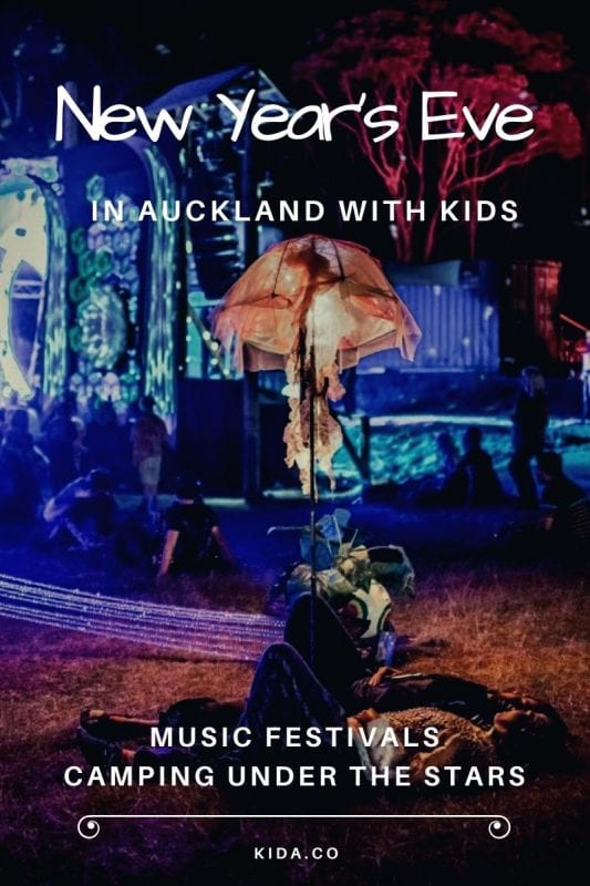 NYE Festival Music Auckland Camping Family Kids Party